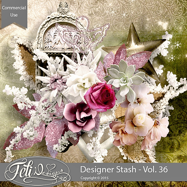 Designer Stash Vol 36 - CU by Feli Designs