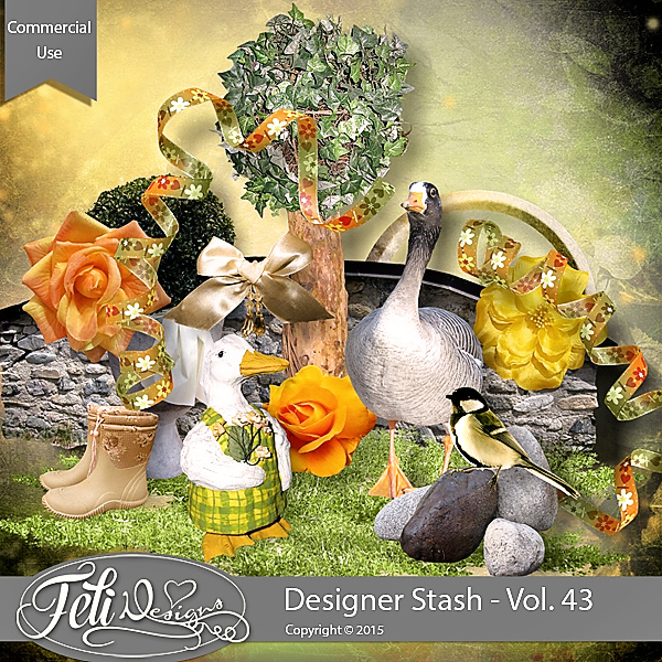 Designer Stash Vol 43 - CU by Feli Designs