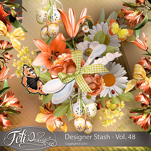 Designer Stash Vol 48 - CU by Feli Designs