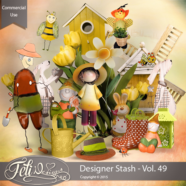Designer Stash Vol 49 - CU by Feli Designs