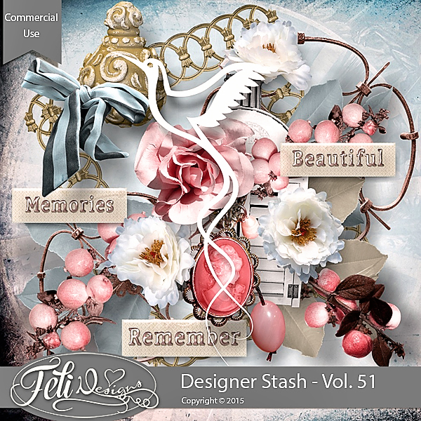 Designer Stash Vol 51 - CU by Feli Designs