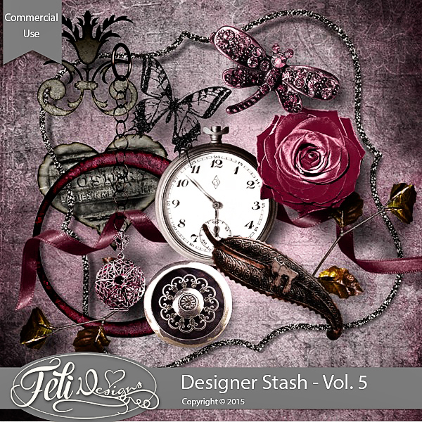 Designer Stash Vol 5 - CU by Feli Designs