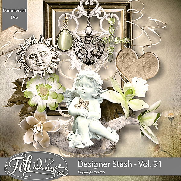 Designer Stash Vol 91 - CU by Feli Designs