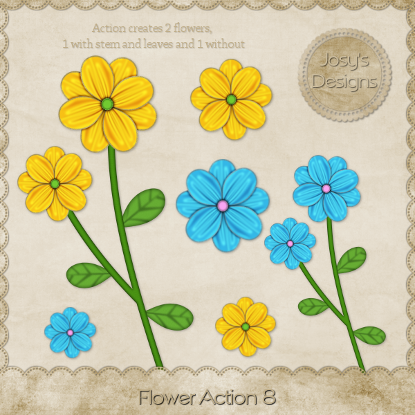 Flower Action 08 by Josy
