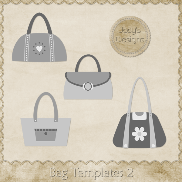 Bag Layered Templates 02 by Josy