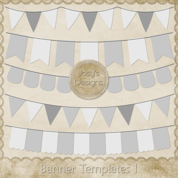 Banner Layered Templates 1 by Josy