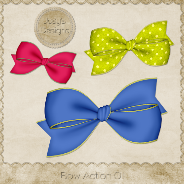 Bow Action 01 by Josy