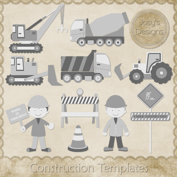Construction Layered Templates 1 by Josy