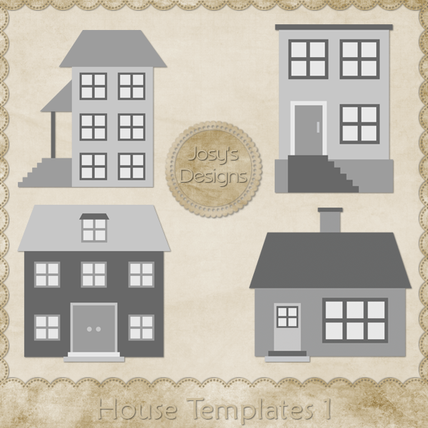 House Layered Templates 1 by Josy