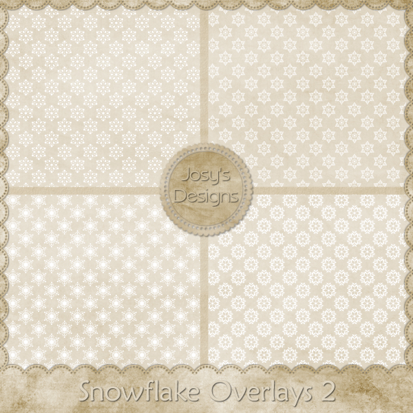Snowflake Overlays 2 by Josy