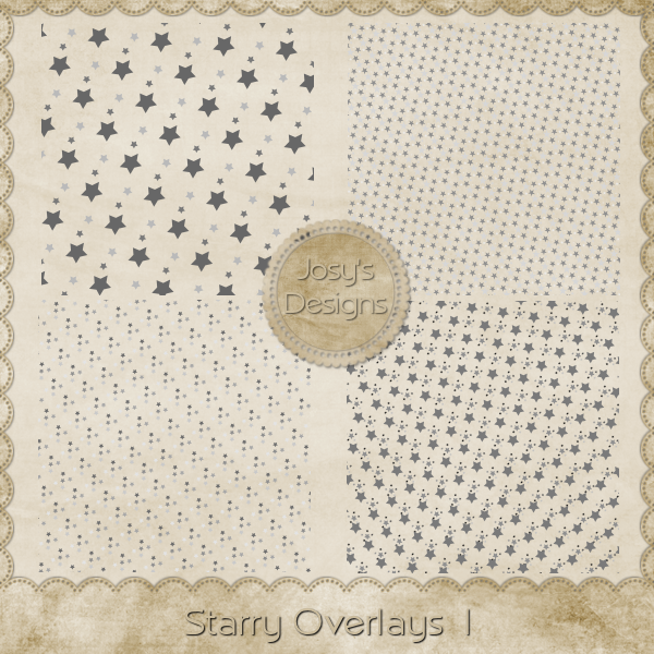Starry Overlays 1 by Josy