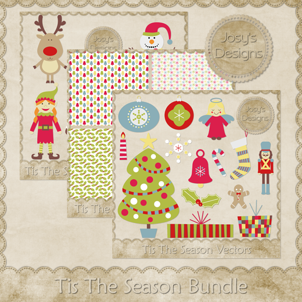 Tis The Season Bundle - CU by Josy