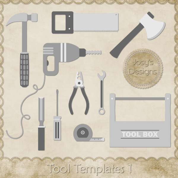 Tool Layered Templates by Josy