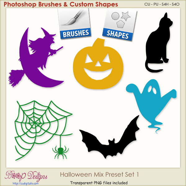 Halloween Mix PRESETS 01