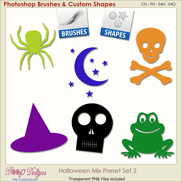 Halloween Mix PRESETS 02