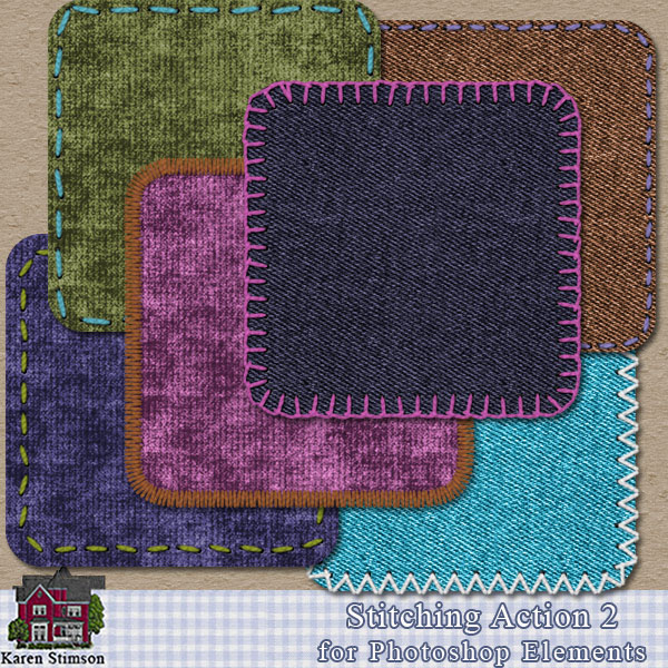 Stitching ACTION 2 for PSE by Karen Stimson