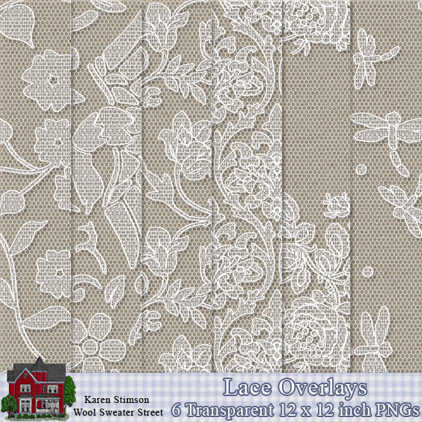 Lace Overlays by Karen Stimson
