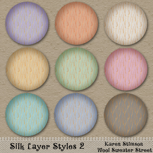 Silk Layer Styles #2 by Karen Stimson