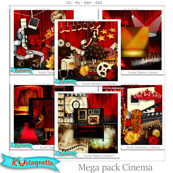 Mega Pack Cinema by Katagnette