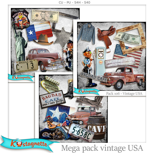 Mega Pack USA by Kastagnette