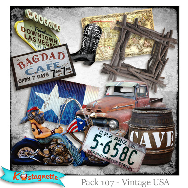 Pack 107 USA by Kastagnette