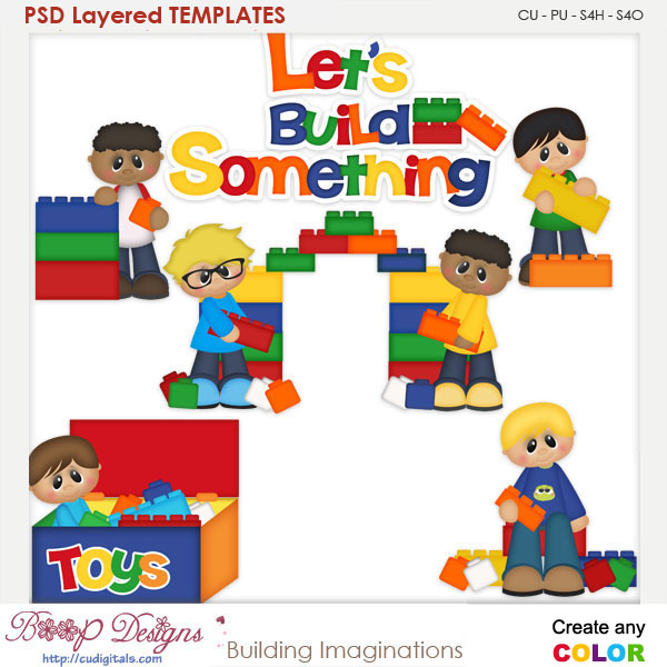 Building Imaginations Layered Element Templates