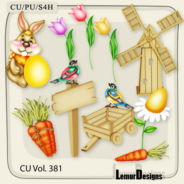 CU Vol 381 Easter Spring by Lemur Designs