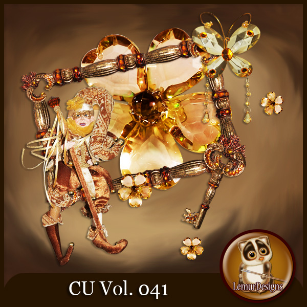 CU Vol 041 Brown Mix by Lemur Designs