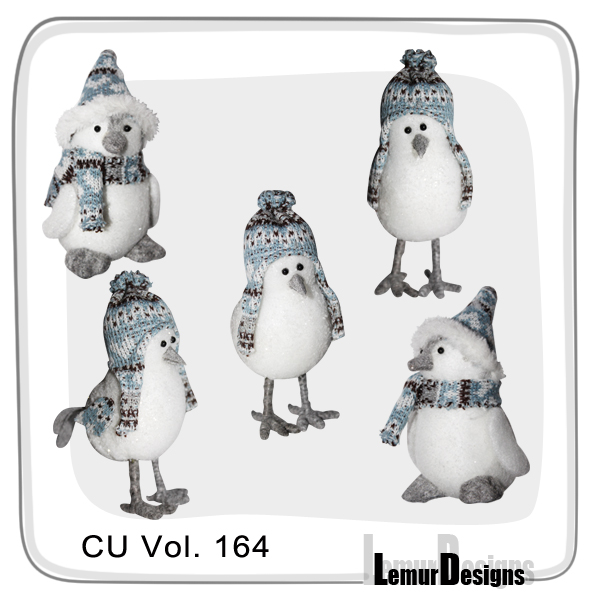 CU Vol 164 Winter Birds by Lemur Designs
