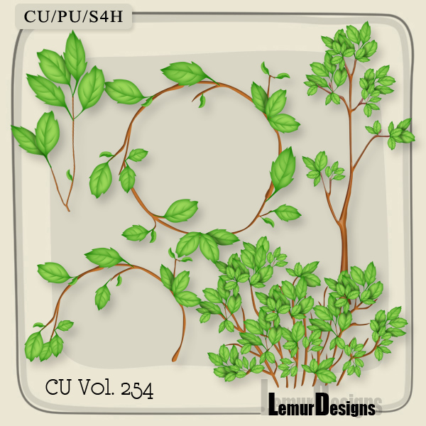 CU Vol 254 Plants Pack 3 by Lemur Designs
