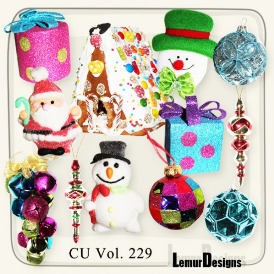 CU Vol 229 Christmas deco by Lemur Designs
