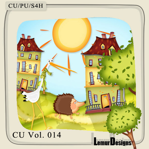 CU Vol 014 Summer Elements by Lemur Designs