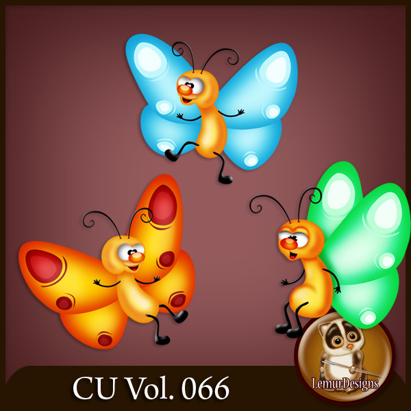 CU Vol 066 Animals Pack 27 by Lemur Designs