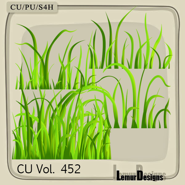 CU Vol 452 Grass by Lemur Designs