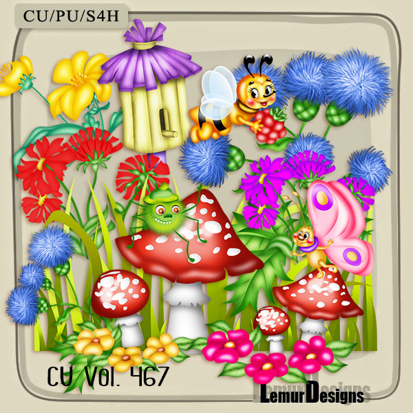 CU Vol 467 Summer Forest by Lemur Designs