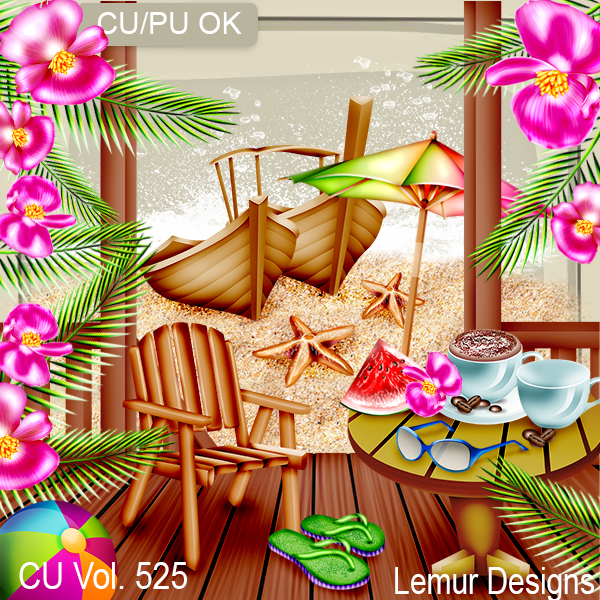 CU Vol 525 Holiday Vacation by Lemur Designs