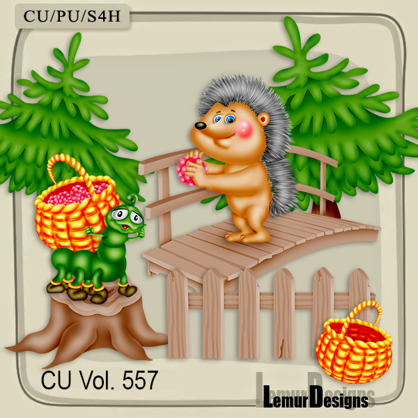 CU Vol 557 Autumn Forest by Lemur Designs
