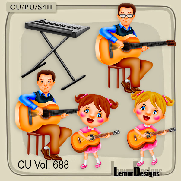 CU Vol 688 Music by Lemur Designs