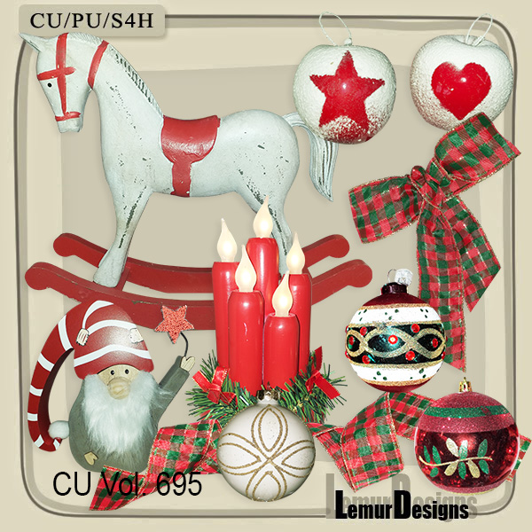 CU Vol 695 Christmas by Lemur Designs