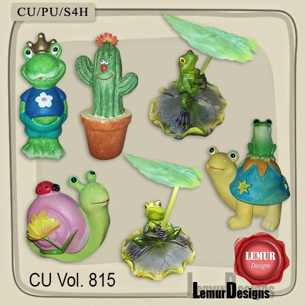 CU Vol 815 Garden Mix by Lemur Designs