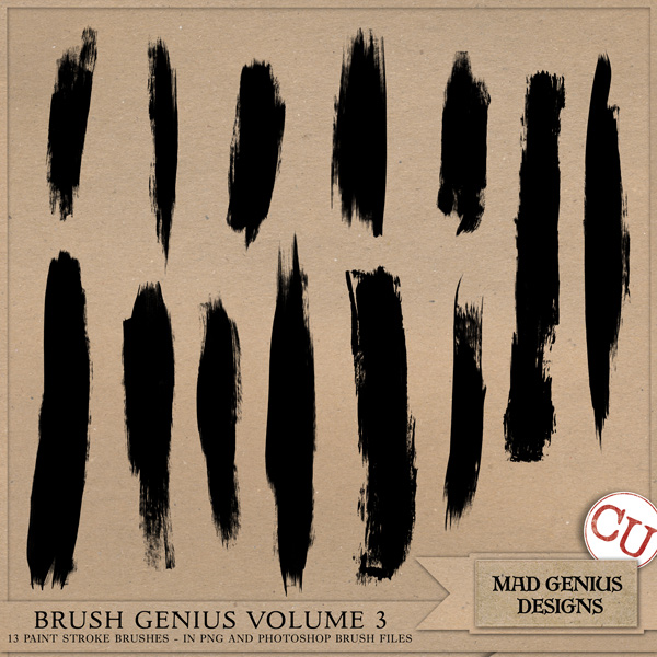 Brush Genius Volume Three by Mad Genius Designs