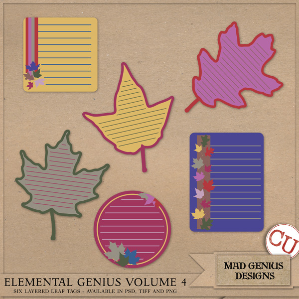 Elemental Genius Volume Four by Mad Genius Designs