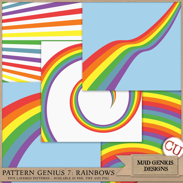 Pattern Genius Paper Volume Seven by Mad Genius Designs