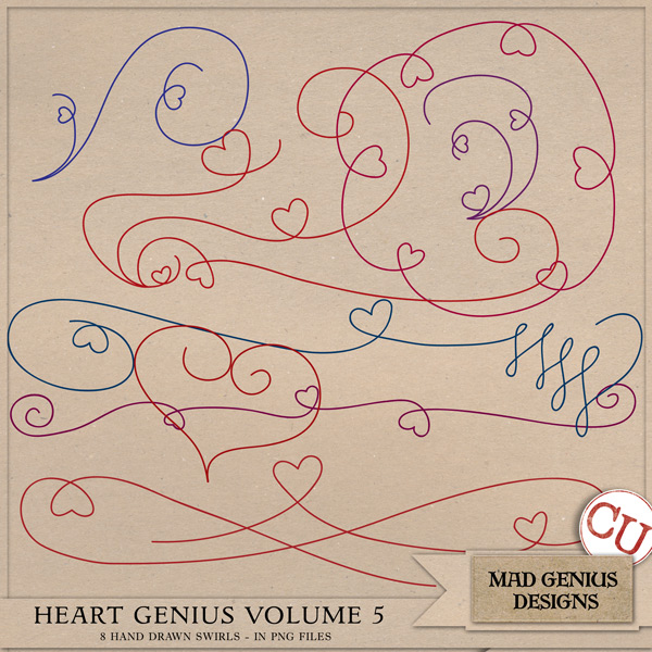 Heart Genius Volume Five by Mad Genius Designs