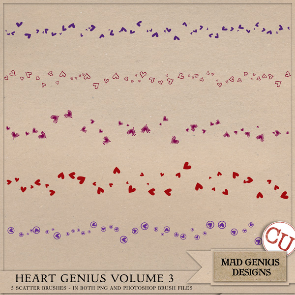 Heart Genius Volume One by Mad Genius Designs