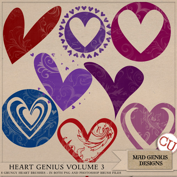 Heart Genius Volume Three by Mad Genius Designs