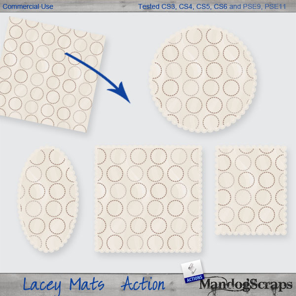 Lacey Mats Action by Mandog Scraps