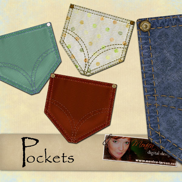 Pockets - action by Monica Larsen