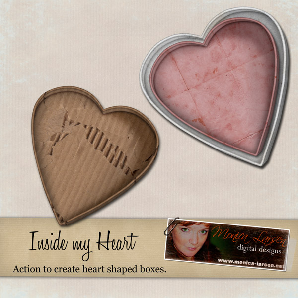 Inside my Heart - action by Monica Larsen