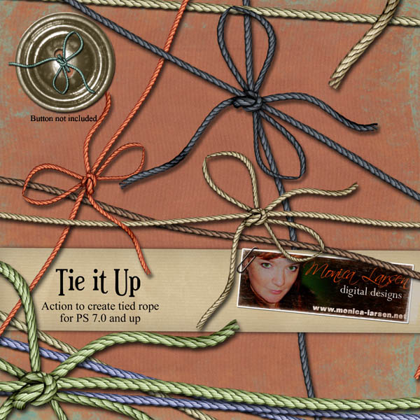 Tie it Up - action by Monica Larsen